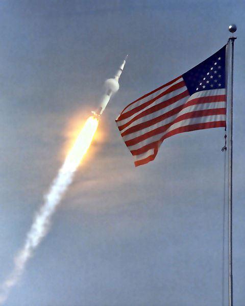 Lanzamiento de Apolo 11