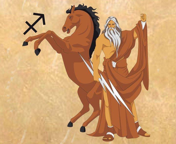Signo-Sagitario-Zeus