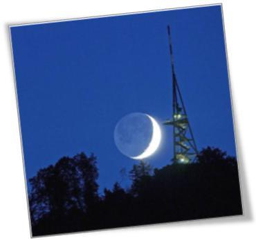 Luna Creciente - Observatorio