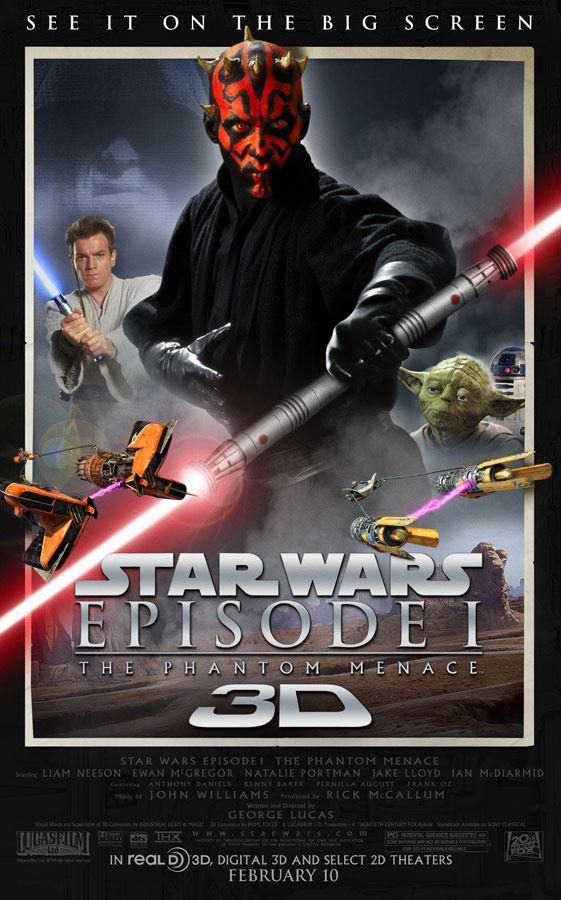 star-wars-phantom-menace-3D-poster