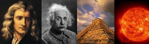 Newton-Einstein-Mayas-Sol