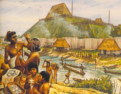 El Encuentro De Dos Mundos on 12 Early Civilizations