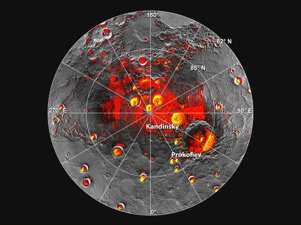 Sombras y crateres mercurio 226-170