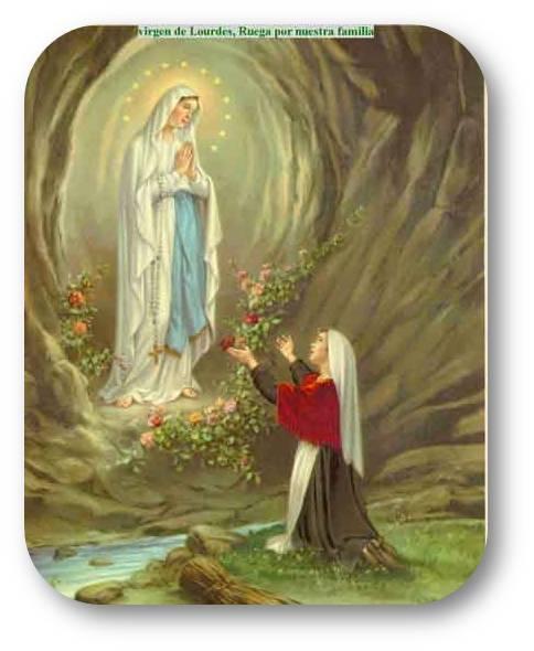 Virgen Lourdes Gruta