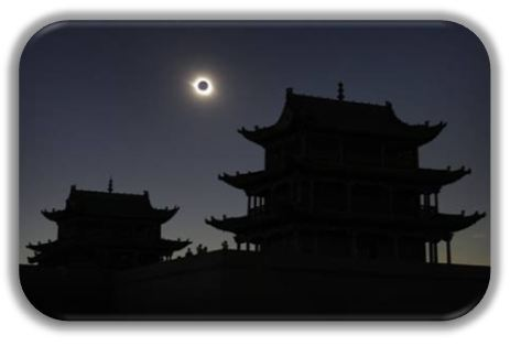 eclipse solar en china