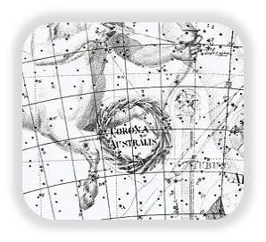 Corona Australes, la cruz del sur