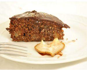 pastel de amaranto