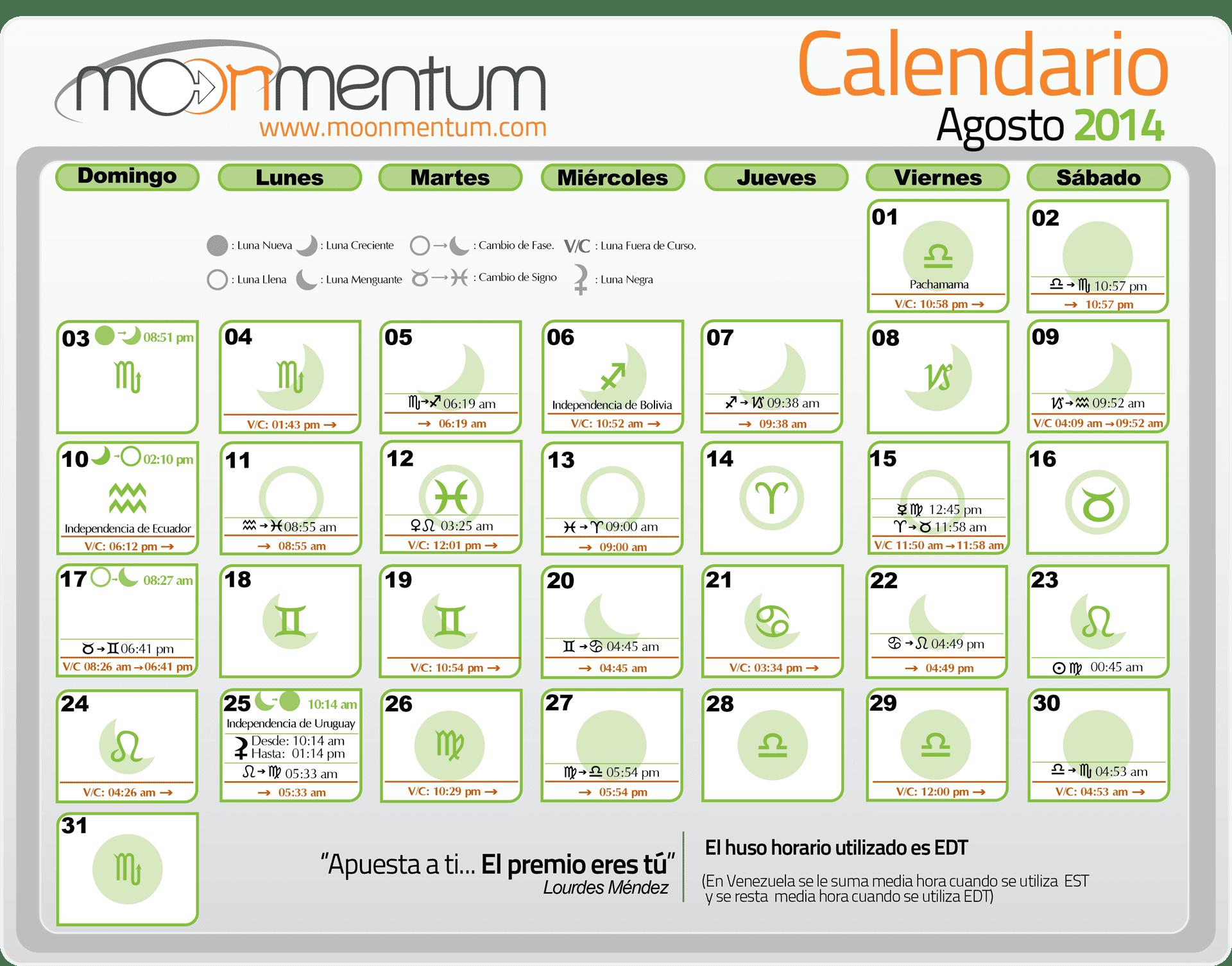Calendario Mes de Julio 2014 Calendario Julio 2014