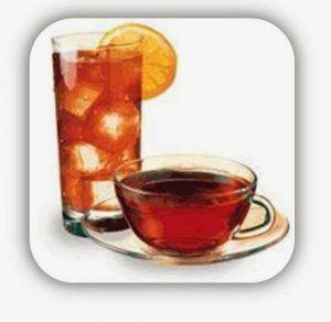 bebida de flor de cayena y clavel