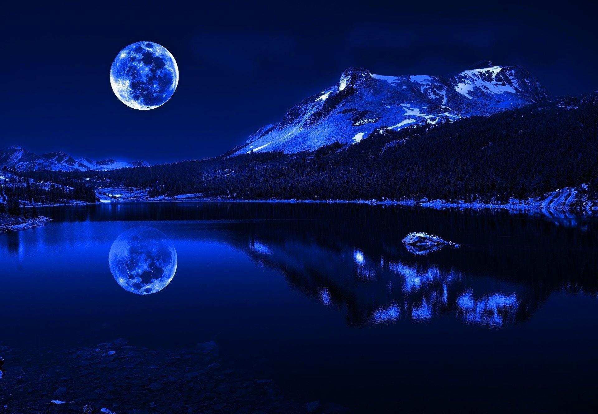 Fondo De Pantalla 3d De Navidad De Santa Vas De Luna Hd: La Luna De Cuaresma…