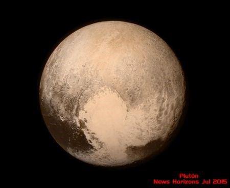 Así es Plutón